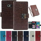 Arium Double Wallet Diary Case Cover for Samsung Galaxy S6 edge+ /Wrist Strap