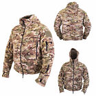 MultiCam / MTP Match Recon Pocketed Fleece Hoodie - Army Union Jack Airsoft