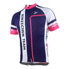 XINZECHEN Purple-LINK Bike Short Sleeve Top Shirt Bicycle Cycling Jersey S-3XL