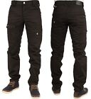 MENS NEW JEANS ETO EM454 IN BLACK COLOUR TAPERED LEG BARGAIN PRICE RRP £44.99