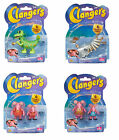 Collectable The Clangers Toy Figure Pack - Soup Dragon - Tiny - Major - Mother