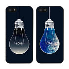 iPhone 5/5S Case Cover Hard Fitted Synthetic Leather Love Universe Bulb Korea