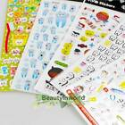 Stylish Cute Molar Shaped Cartoon Tooth Paper Stickers Label Dentist Dental Gift