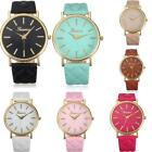 New Fashion Classic Casual Women Lady Leather Band Analog Quartz WristWatch Gift