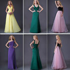 4 Style Womens Formal Evening Ball Banquet Prom Wedding Long Cocktail Dress 6~20