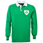 RWC Mens Ireland Long Sleeve Vintage Rugby Shirt Jersey Top World Cup All Sizes