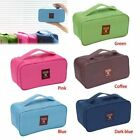 Lady Travel Underwear Lingerie Bra Bags Cosmetic Makeup Storage Case Pretty Hot