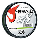 Daiwa J-Braid X8 Braided Fishing Line - 165 Yards (150 M) Chartreuse Line