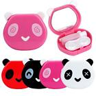 1 PC Cartoon Panda Shape Candy Color Contact Lens Box Case For Eyes Care Kit New
