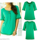 MARISOTA ANTHOLOGY GYPSY HERSEY GREEN LACE TOP STUNNING NEW SIZE 14-32 STUNNING