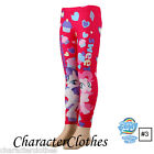 New Official Girls Winter CHARACTER Leggings Kids & Toddlers Tights Age 1-8 Yrs