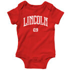 Lincoln 402 Nebraska One Piece - Cornhuskers Baby Infant Creeper Romper NB-24M