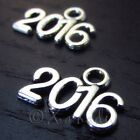 2016 Wholesale Antiqued Silver Plated Charm Pendants C2175 - 20, 50 Or 100PCs