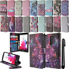 For LG G3 Stylus D690 Flip Wallet LEATHER Skin POUCH Case Phone Cover + Pen
