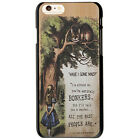 Alice in Wonderland with Tardis Style Pattern Case Cover For iphone 4GS / 5GS /6