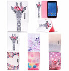 """Pattern Leather Mangnetic Cover Smart Case Stand for Samsung Tab 9.7"""" T550 T555"""