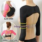 Womens Slimming Arm Correct Back Posture Humpback Prevent Long Sleeve Shaper LA