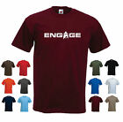 'Engage' Captain Jean-Luc Picard Star Trek Next Generation NG Birthday T-shirt on eBay