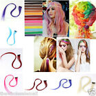"1x 20"" Party Colorful Highlight Clip In On Hair Extension Synthetic Fashion New"