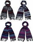 Ladies Aztech Blanket Scarf 4 Colours 91235