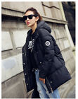 2015 New coats women's winter long section down cotton jacket coat, loose hooded