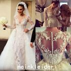 Luxury Beads Wedding Dress Detachable Sheath Bridal Gowns With Appliques