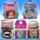 Pocket Cosmetic Mirror Elsa Frozen Princess CINDERELLA ARIEL MINNIE TINKA BELL