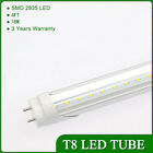 10/25PC 18W 4ft Cool White LED T8 Bulb Tube Light Fluorescent Replacement Lamp