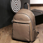 Men Women Real Leather Luxury Rucksack Camping Laptop Travel Backpack Book Bag