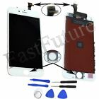 """iPhone 6 4.7"""" LCD Digitizer Touch Screen Replacement Part with Tools White Black"""