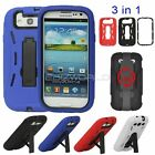 ARMOUR TOUGH SHOCK PROOF STAND CASE FOR SAMSUNG GALAXY S3 i9300 HARD COVER