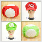 Super Mario Bros Luigi Toadette Plush Beanie Cute Warm New Hat Soft Cosplay Cap