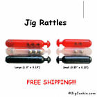 Внешний вид - JIG RATTLES (10) or (100) Color: Clear, Red or Black - SHIPS FROM USA