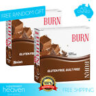 Maxines Burn Bars 24x 40g Bar Double Choc Womens Protein Thermogenic Maxine