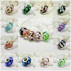 S925 Sterling Silver Murano Glass Beads Series Fit European Charm Bracelets image