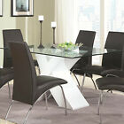 high gloss black table