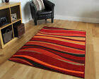 New Modern Rugs Small X Large Rugs Soft Easy Clean Brown Red Purple Rugs Online