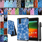 For ZTE ZMAX Z970 ShockProof HYBRID HARD SOFT Silicone BACK Case Cover + Pen