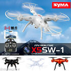 Syma X5SW-1 RTF Drone 2.4G 6Axis 4CH WiFi Camera 3D FPV RC Quadcopter Helicopter