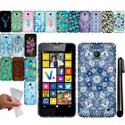 For Nokia Lumia 635 630 TPU Gel SILICONE Rubber SKIN Soft Case Phone Cover + Pen