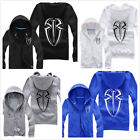 Hot sell! NEW WWE Punk Roman Reigns Hooded jacket hoodie Coat XMSDI