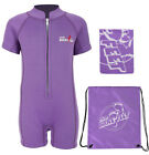 Classic Baby Wetsuit Starter Swim Set - Wetsuit + Towel + Bag by Two Bare Feet