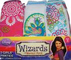 Disney Wizards of Waverly Place Toddler Girls Briefs Underwear 3pk