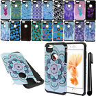 "For Apple iPhone 6 Plus 6s Plus 5.5"" ShockProof HYBRID HARD SOFT Case Cover +Pen"