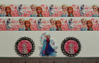 """7/8"""" Frozen Valentines Inspired Ribbon and 3 Resins or 5 yards Ribbon"""