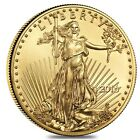 2016 1 oz Gold American Eagle $50 Coin BU