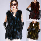Newly Women Winter Faux Fur Shaggy Sleeveless Vest Coat Jacket Outwear Waistcoat