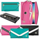 Luxury Flip Wallet Leather Design Pouch Purse Case Cover for Smart Cell Phone