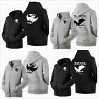 New Movie How to Train Your Dragon 2 Toothless Unisex Zipper Sweater Hoodie