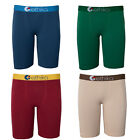 NEW Ethika Men's 'The Staple' Long Boxer Brief Underwear SOLID COLORS